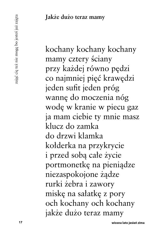 Wiersze Dagmary Polski Instytut Psychoterapii